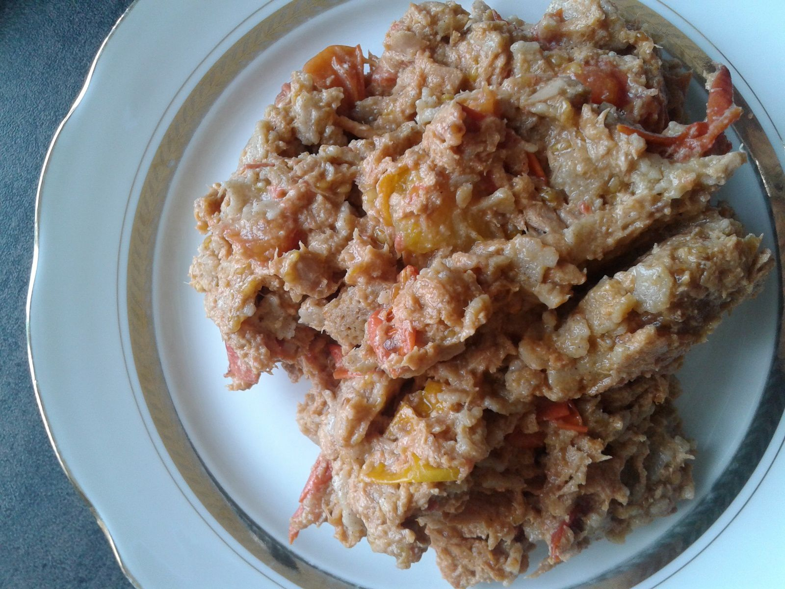 Plat complet tomates blé noir et thon - 0 en JSC