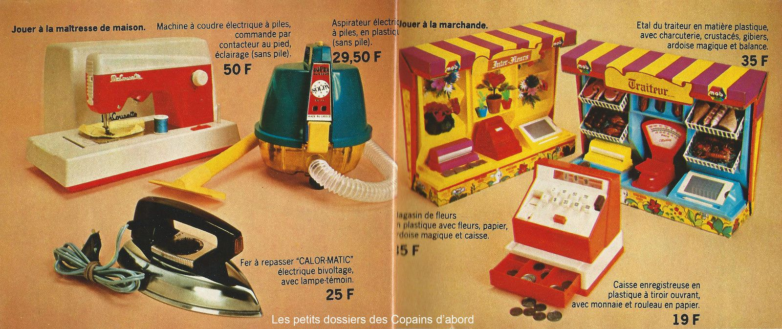 Le catalogue de jouets des Nouvelles Galeries de 1975 par Nath-Didile