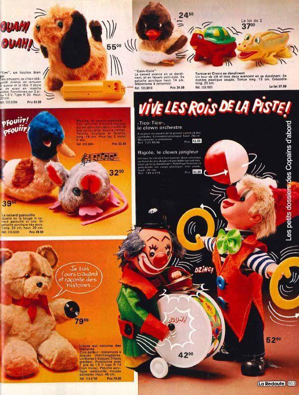 les jouets du catalogue la redoute 1979 80 par nath didile. Black Bedroom Furniture Sets. Home Design Ideas