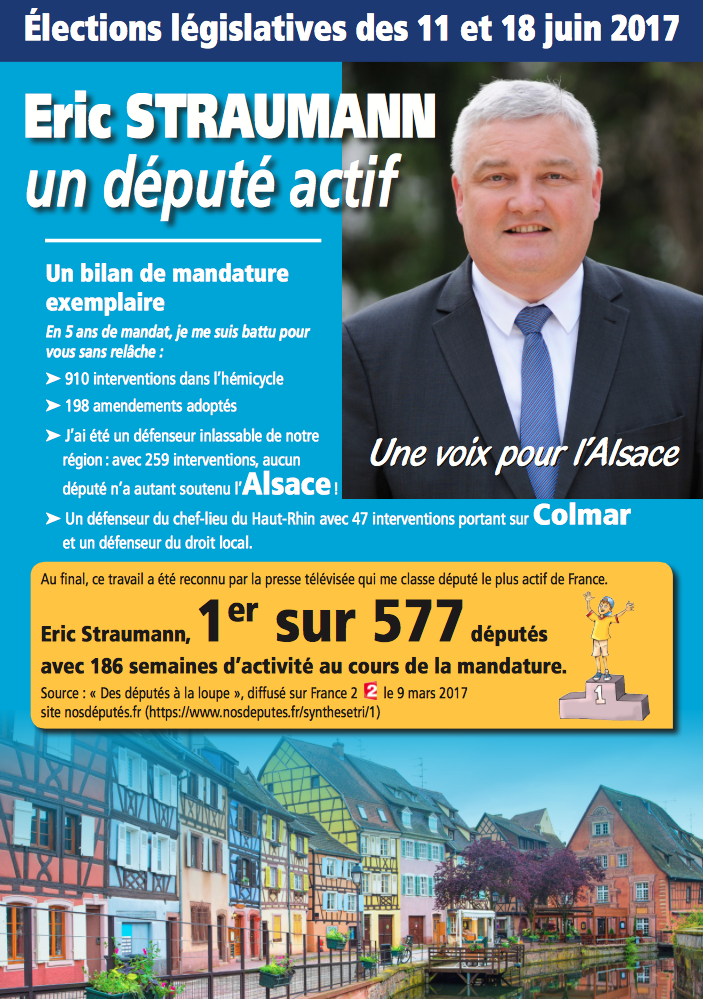 Document de campagne législatives 2017