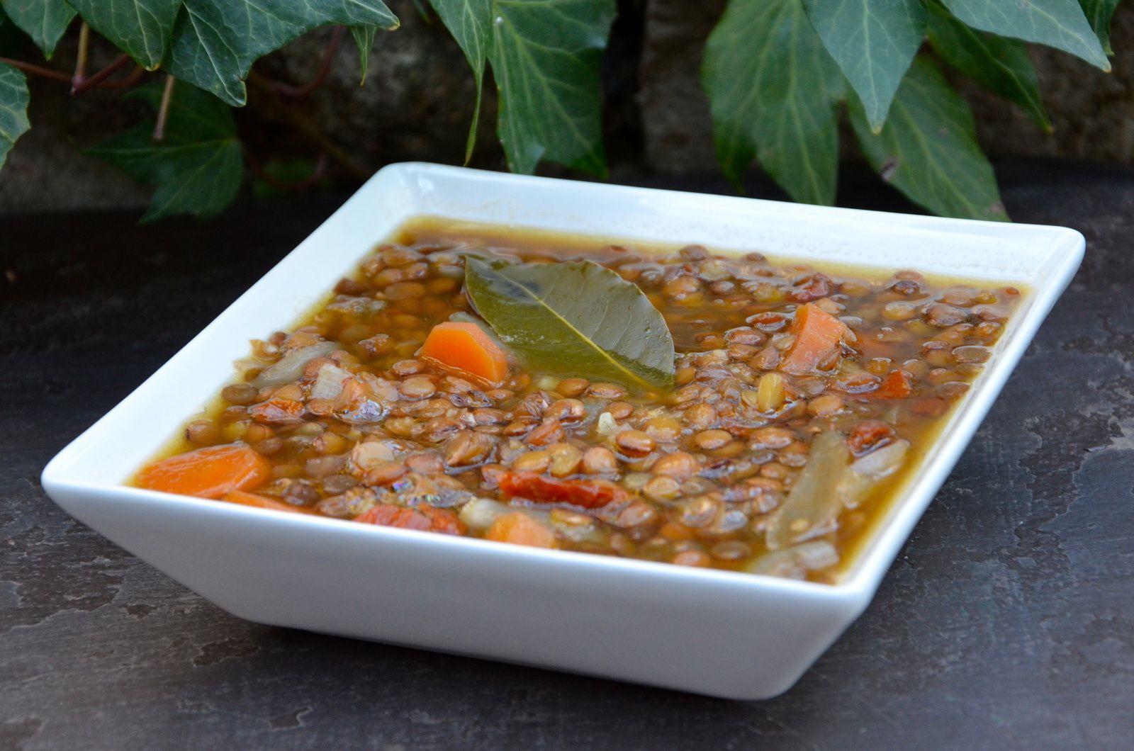 Soupe aux lentilles (Grèce)