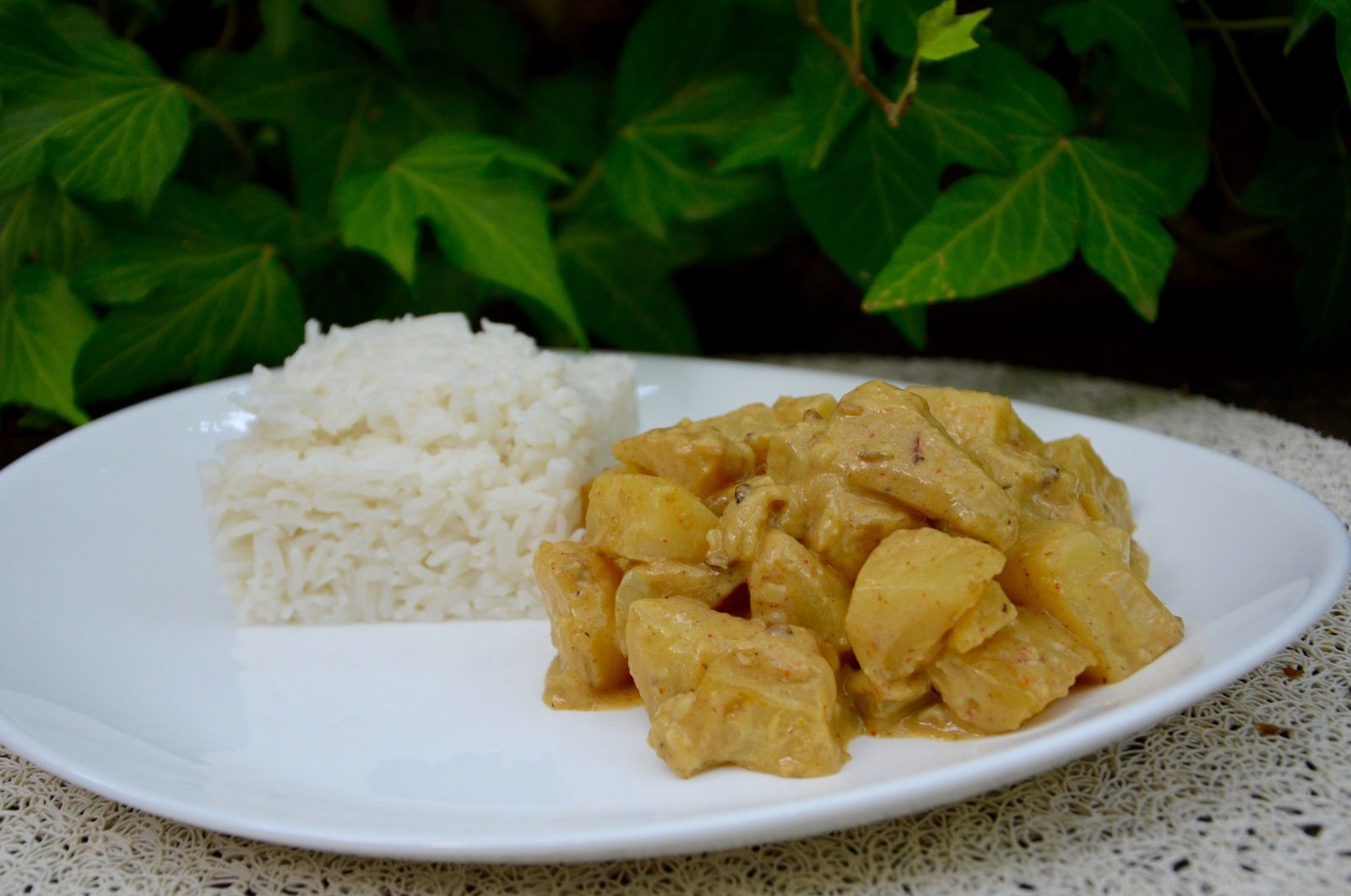 Potato curry (Sri Lanka)