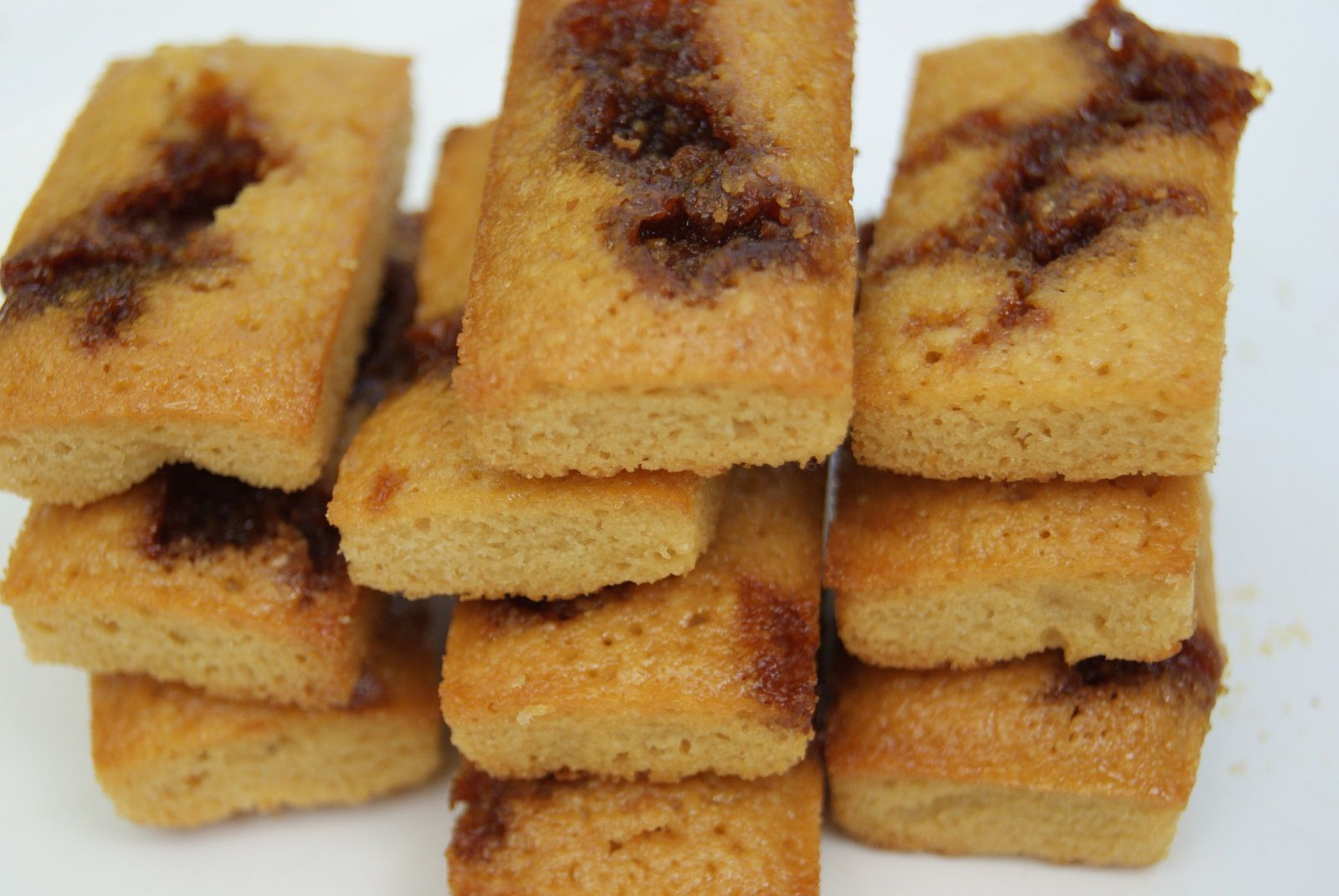 Financiers au caramel