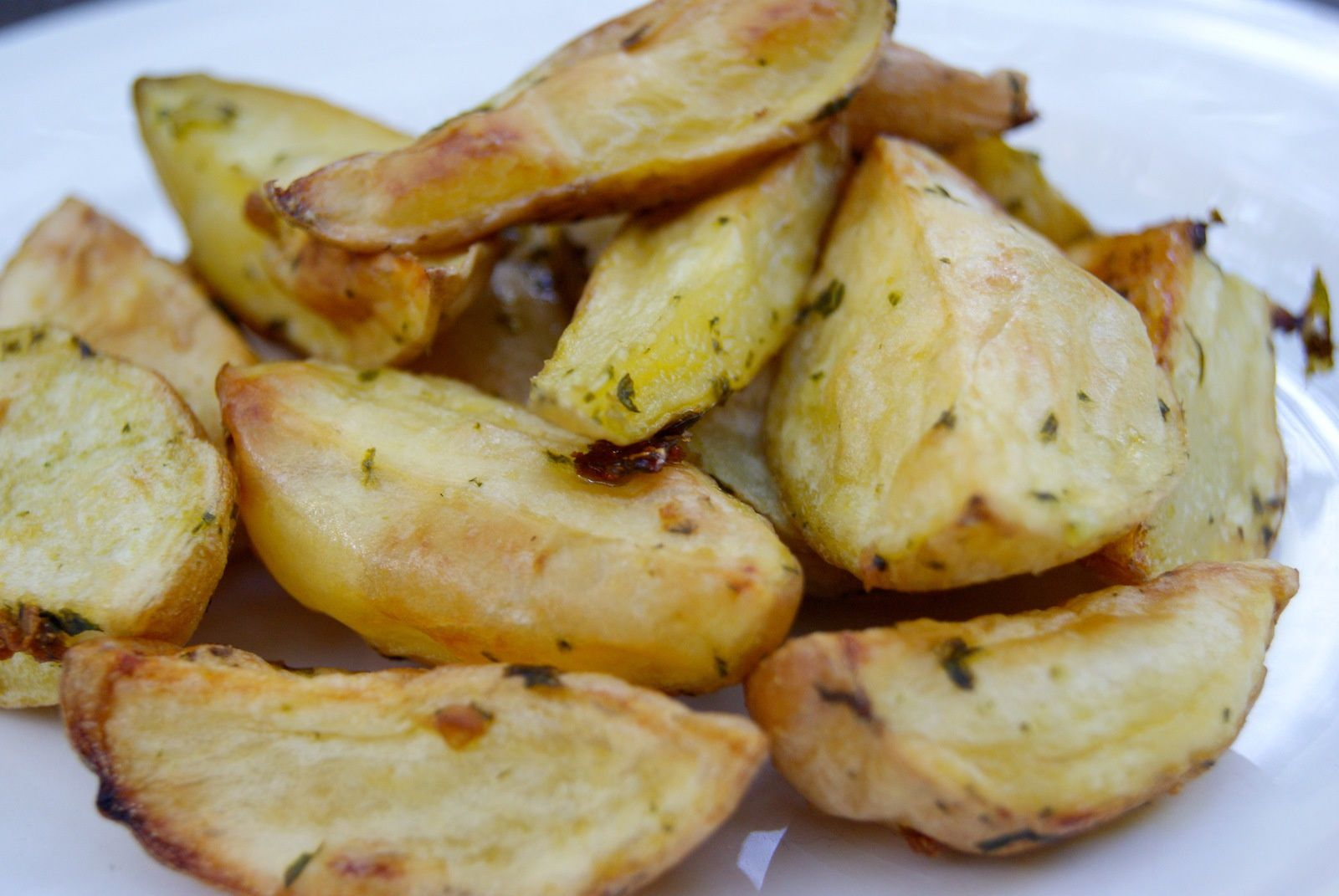 Pommes de terre rôties en persillade