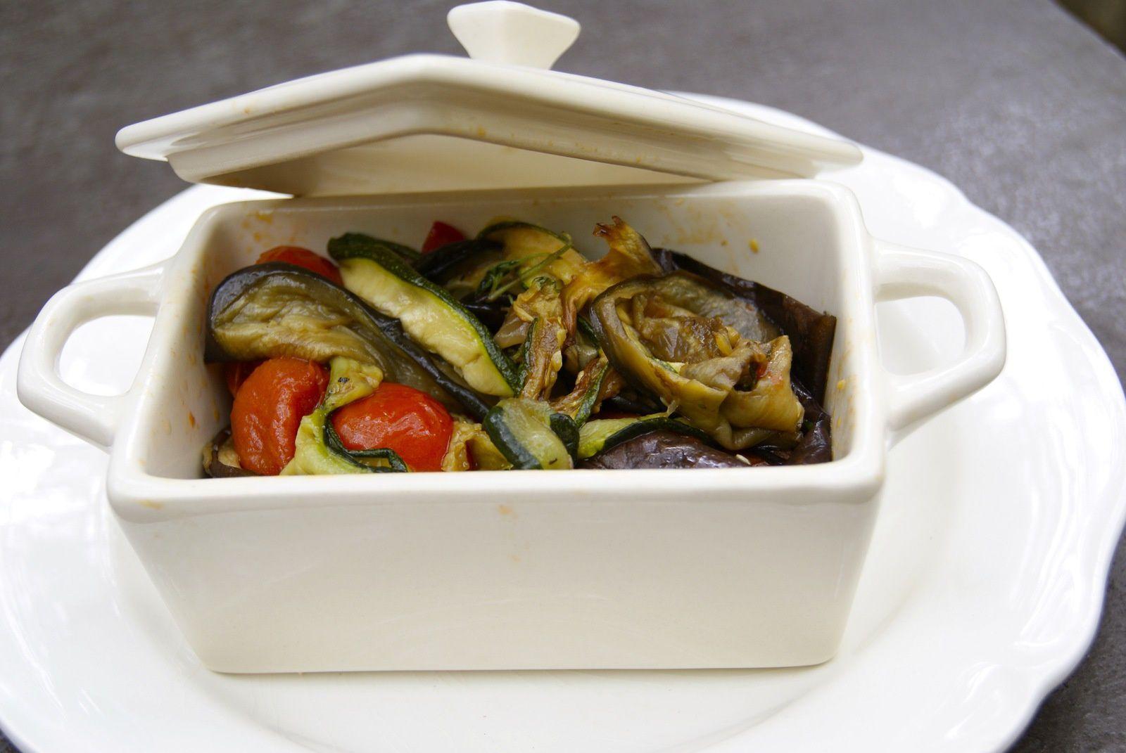 Cassolette de légumes grillés