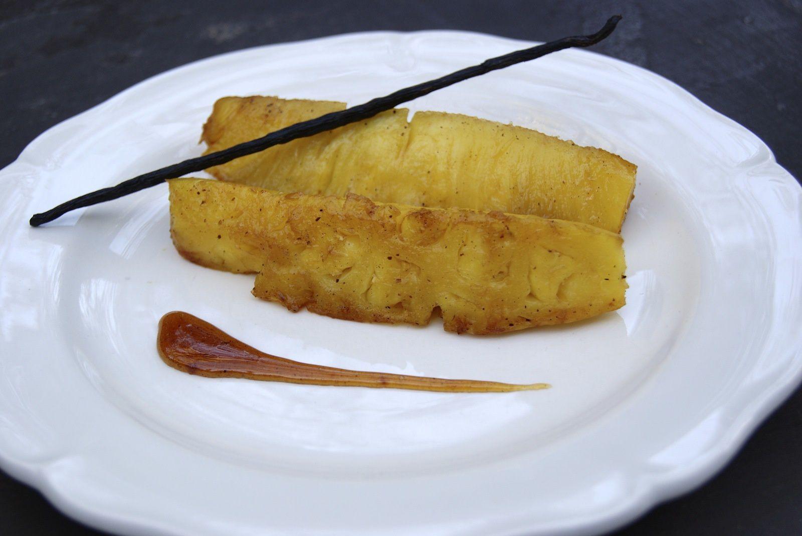 Ananas rôtis (Antilles)