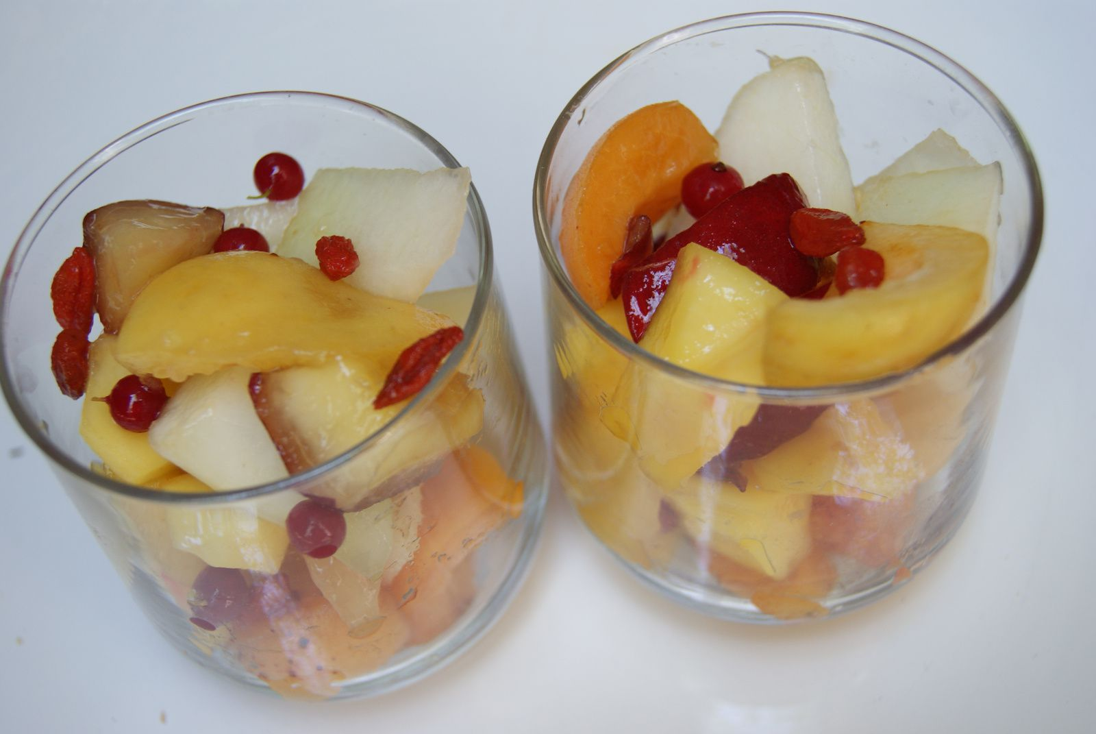 Salade de fruits multivitaminée