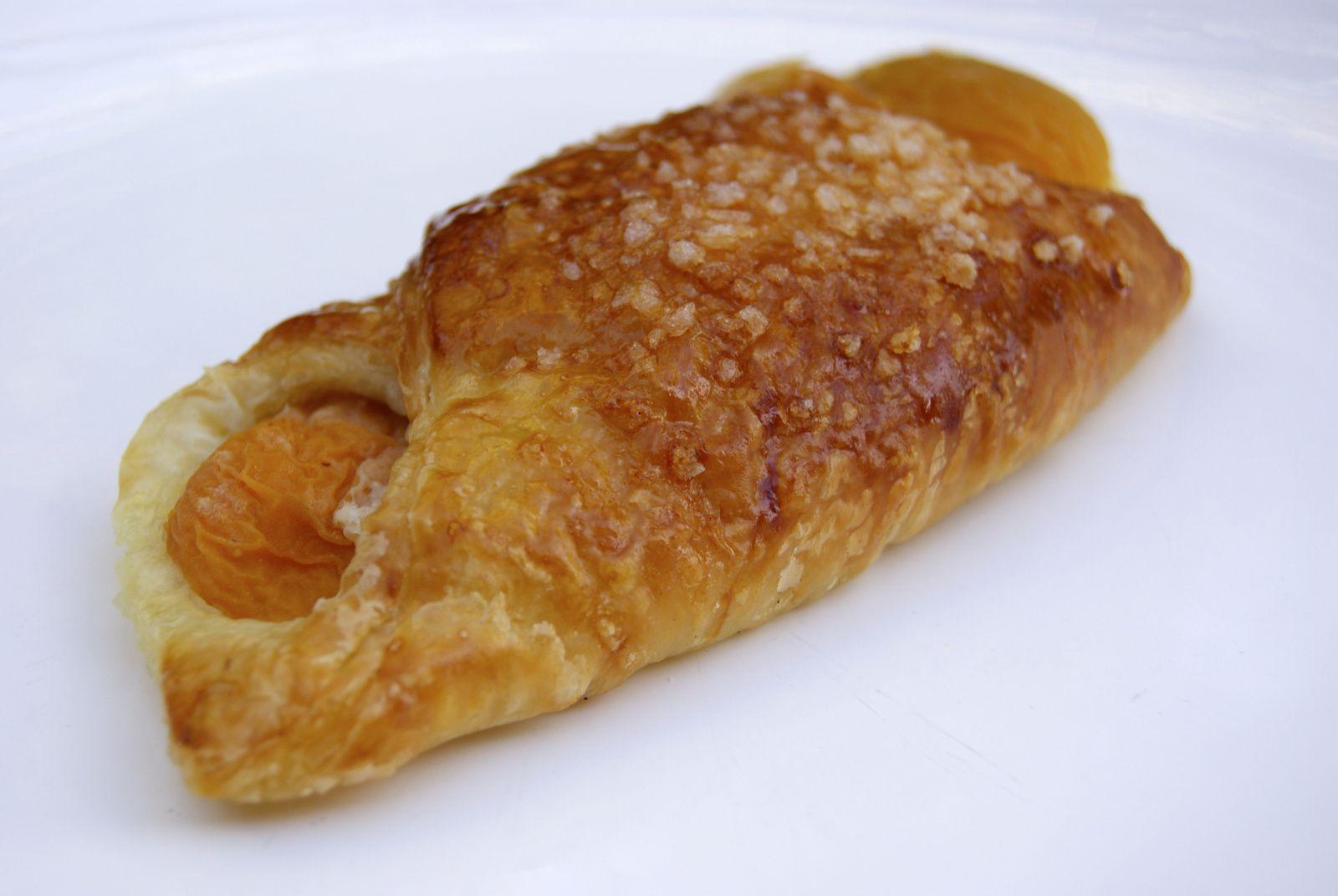 Croissants aux abricots (ou oranais)