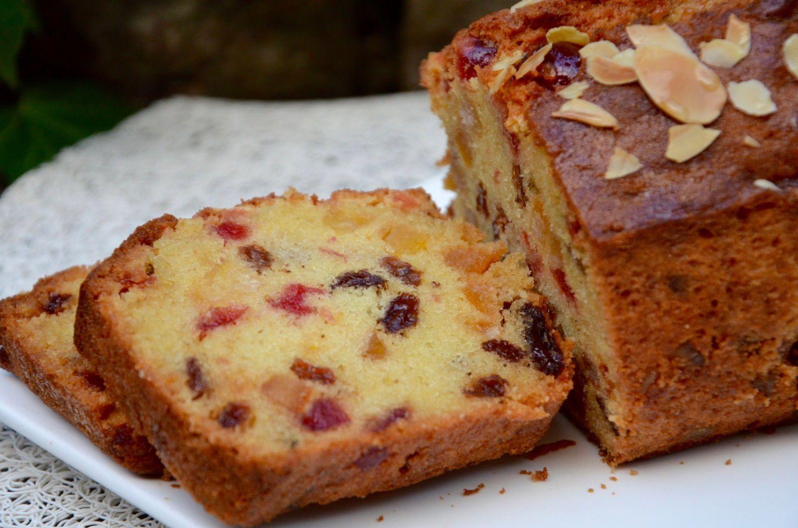 Cake Fruit Confit Anglais