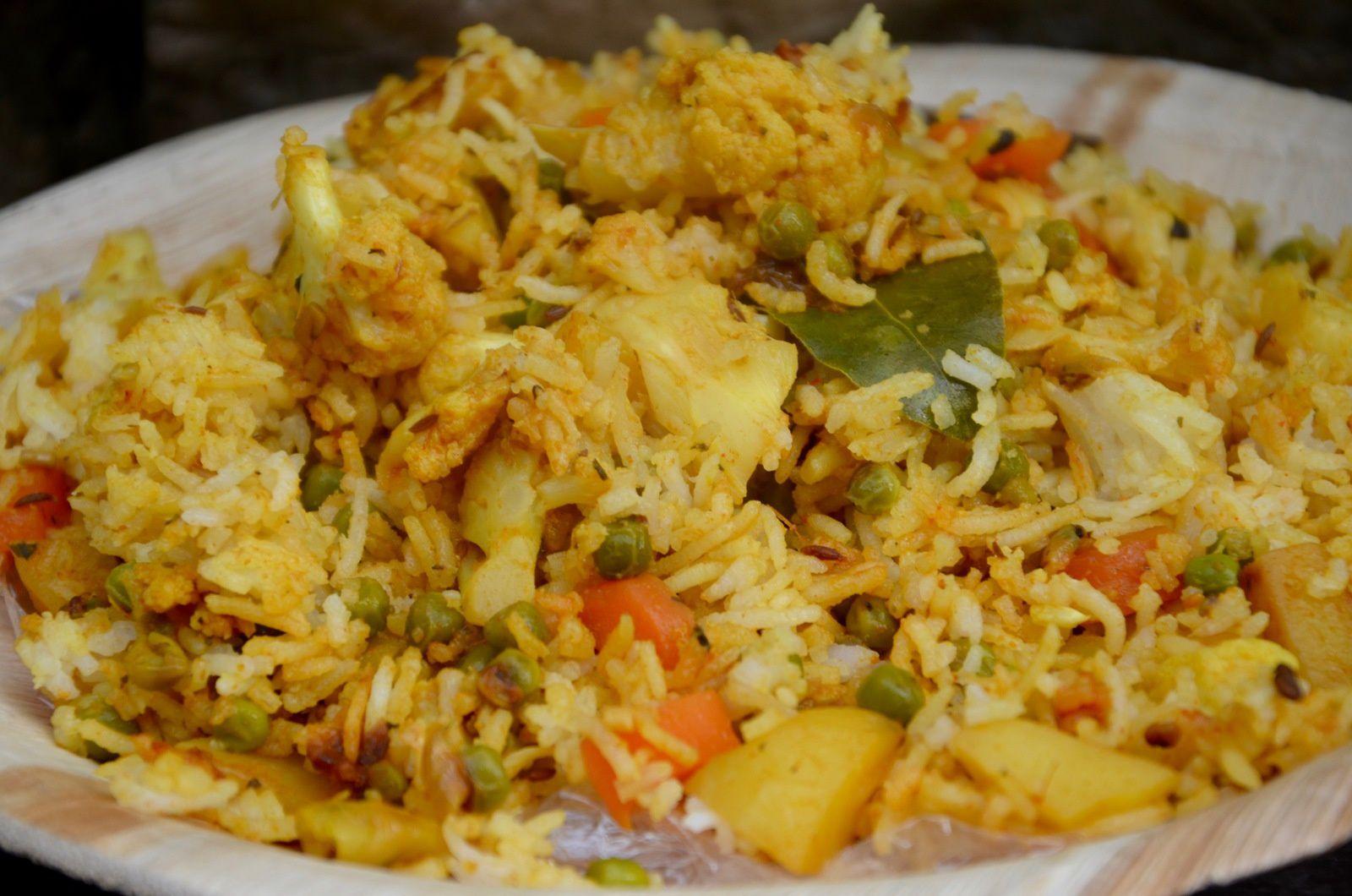 Biryani aux l gumes inde la p 39 tite cuisine de pauline - Absorber l humidite avec du riz ...