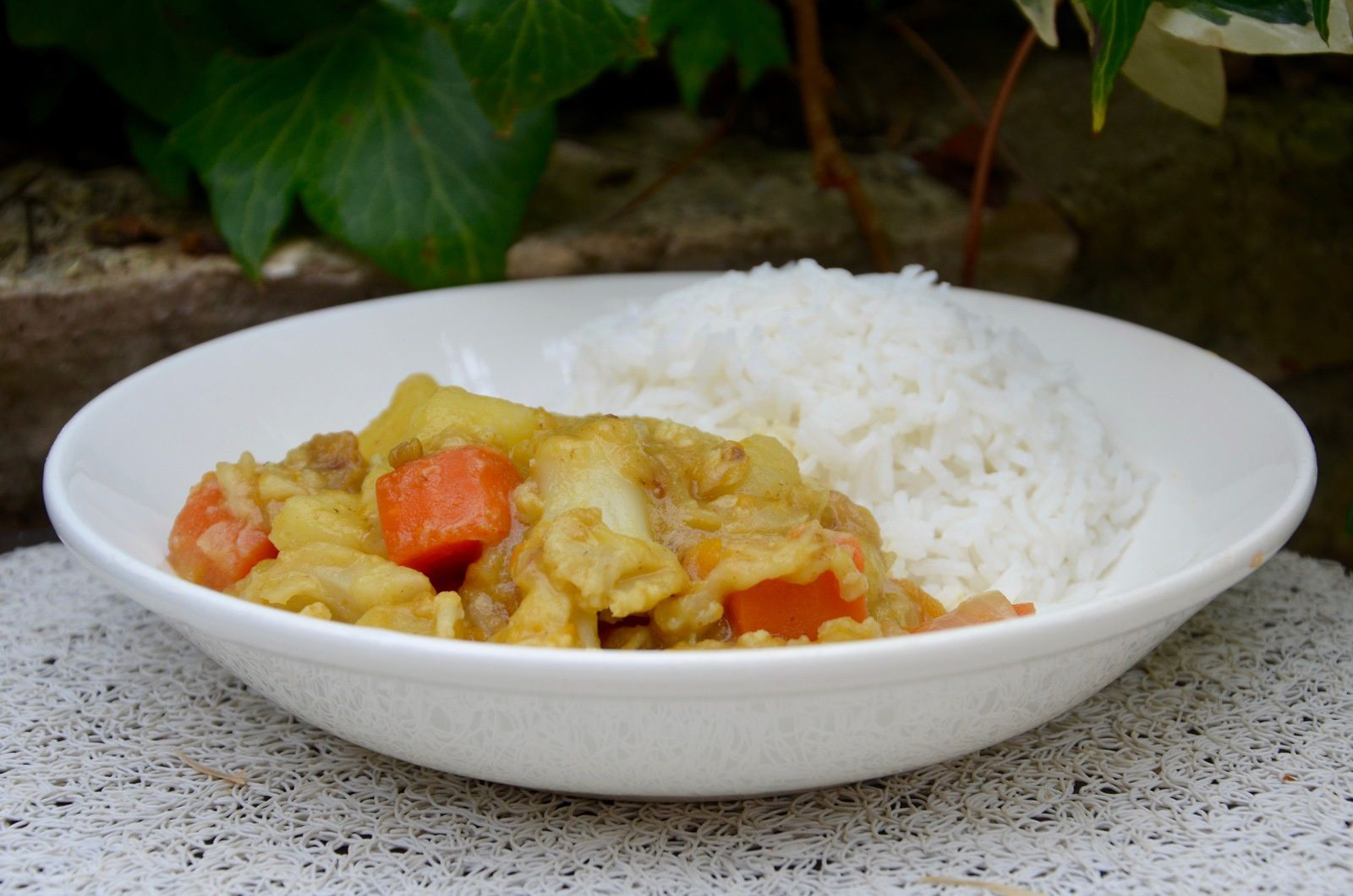 Curry de légumes (Inde)
