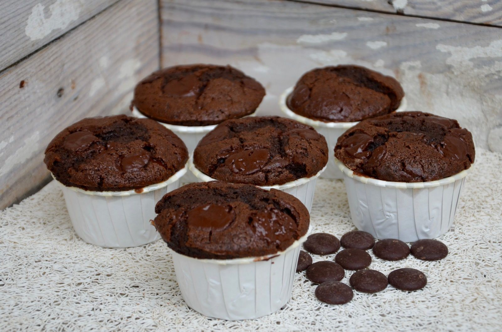 Muffins au chocolat très très gourmands (USA)