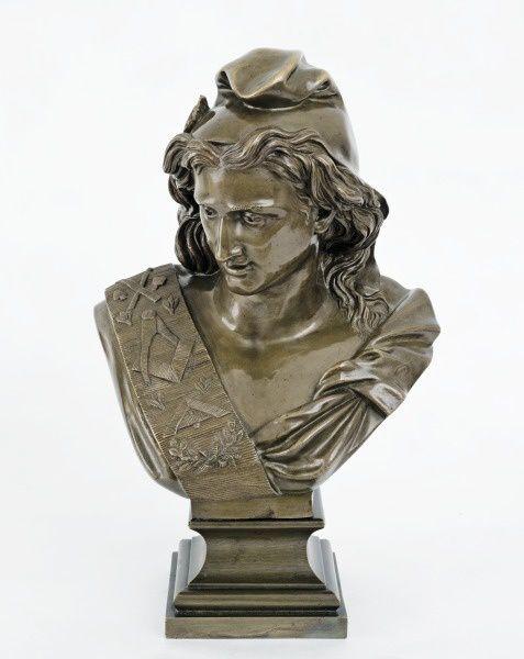 La Marianne de Jacques France à l'Exposition.