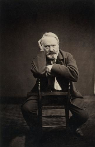 Victor Hugo - Portrait d'Hubert Bacot