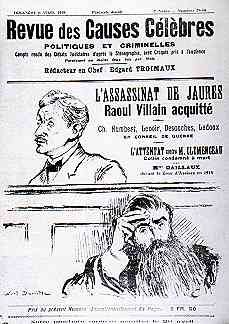 Il y a 102 ans, Jaurès était assassiné.