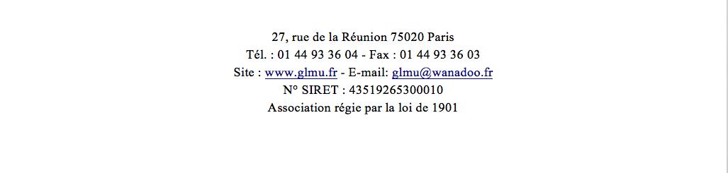 GLMU, Alain Tirard réélu Grand Maître