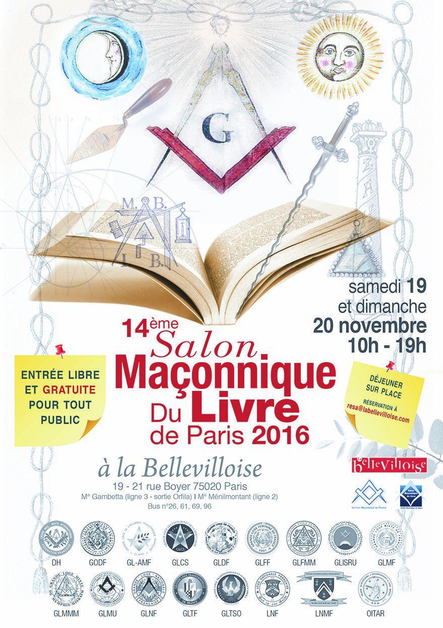 14° Salon Maçonnique du Livre, à La Bellevilloise.