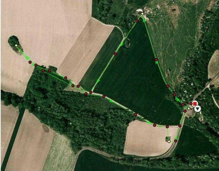 Plan des sources fait par Fassler sur le forum des Sources Puy de Dôme et Haute Loire -
