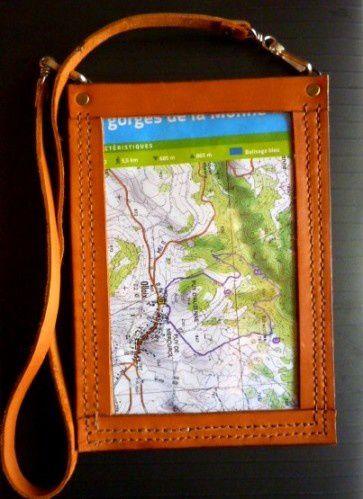 Lecteur carte de randonnée