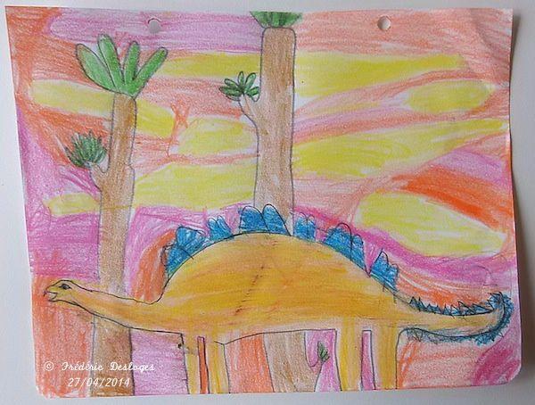 ATELIER &quot&#x3B;VACANCES&quot&#x3B; : les dinosaures