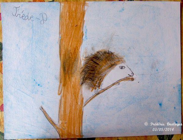 Le hérisson de Frédéric, Crayola®