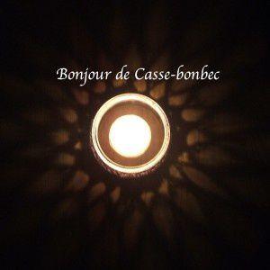 CROCHET : photophore &quot&#x3B;Boucles d'Or&a