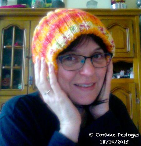TRICOT : bonnet Winter Peps