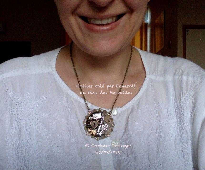 AUTO-CADEAU : collier &quot&#x3B;Alice&quot&#x3B;