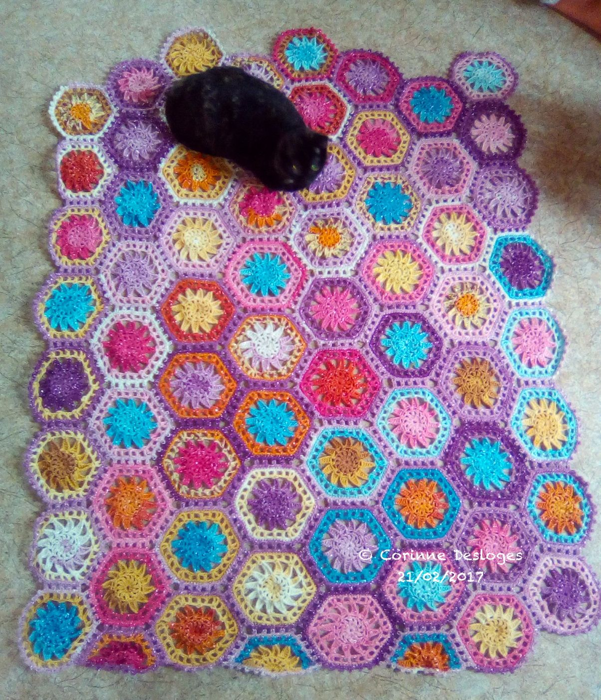 CROCHET : Hexaplaid 9