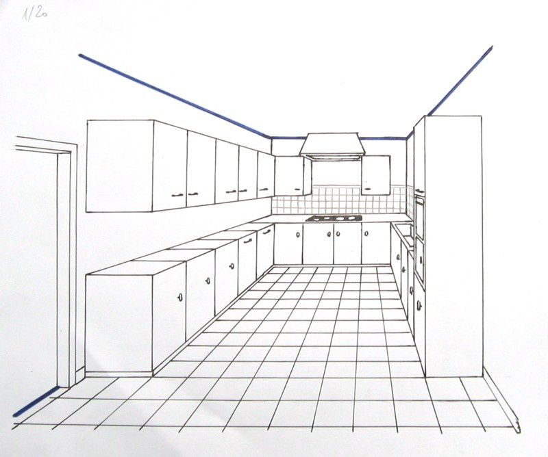 Gallery of perspective et espacements with dessiner sa - Dessiner sa cuisine gratuit ...