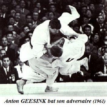 Anton Geesink aux championnats du monde de 1961
