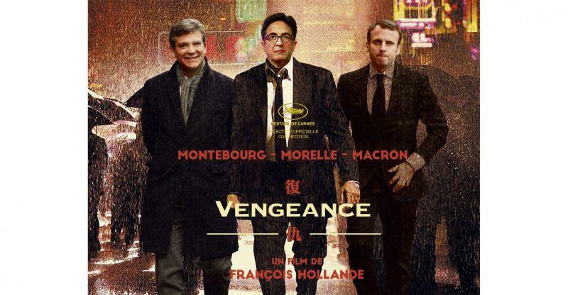 © Sipa Press (Montage photo : Séverine Bouton) d'après l'affiche du film Vengeance Johnnie To