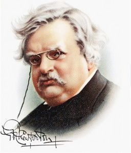 G.K. Chesterton : &quot&#x3B;When...&quot&#x3B;