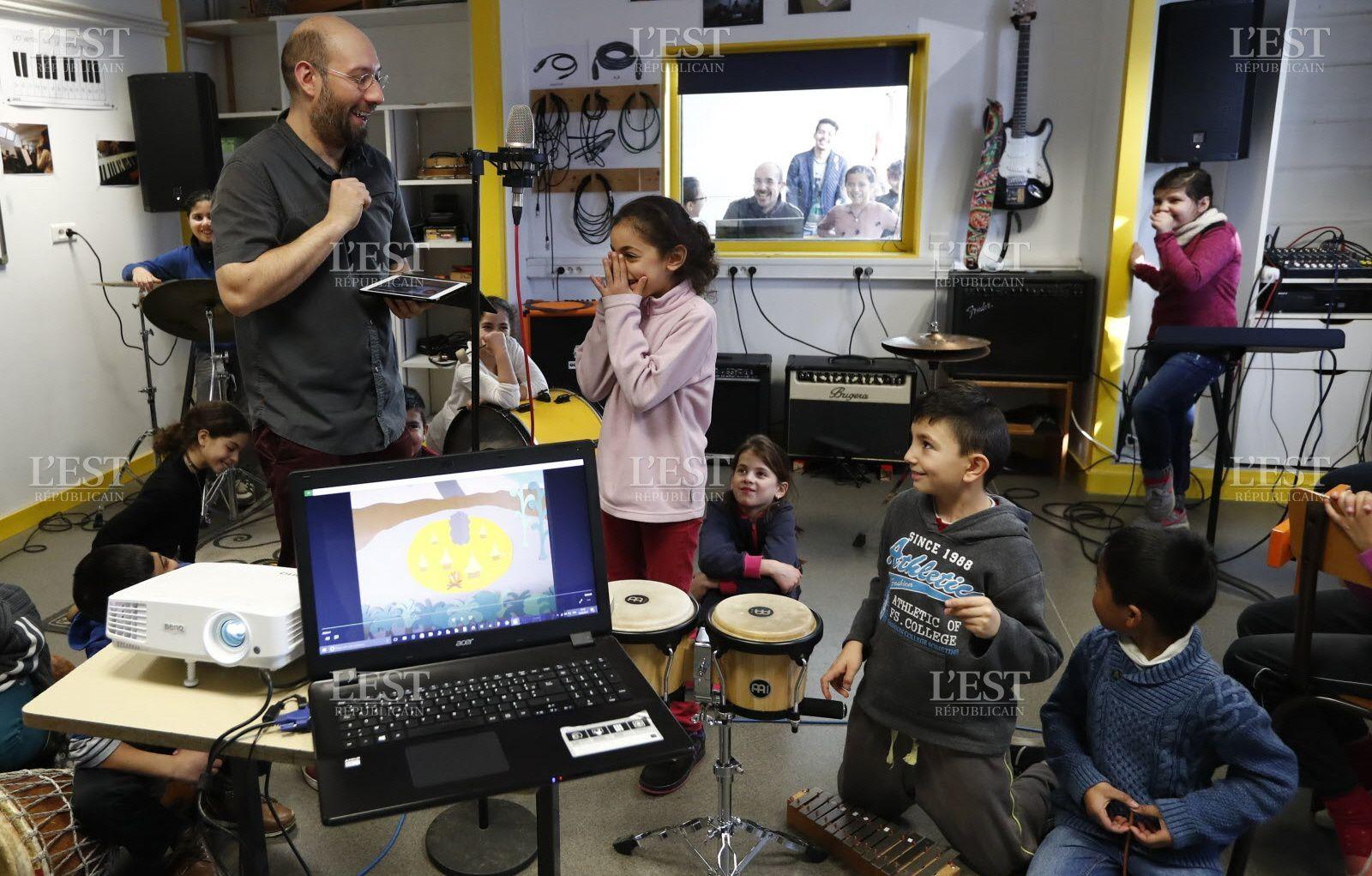 Besançon : de la culture dans les écoles