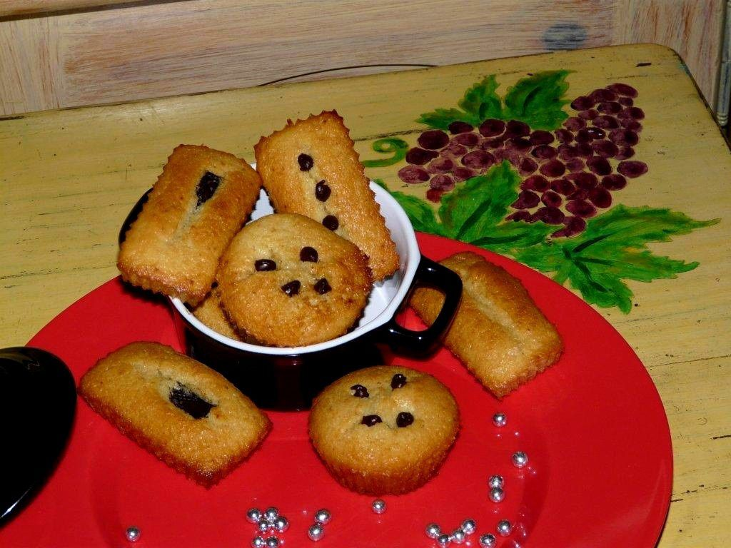 MUFFINS AUX FRUITS CONFITS