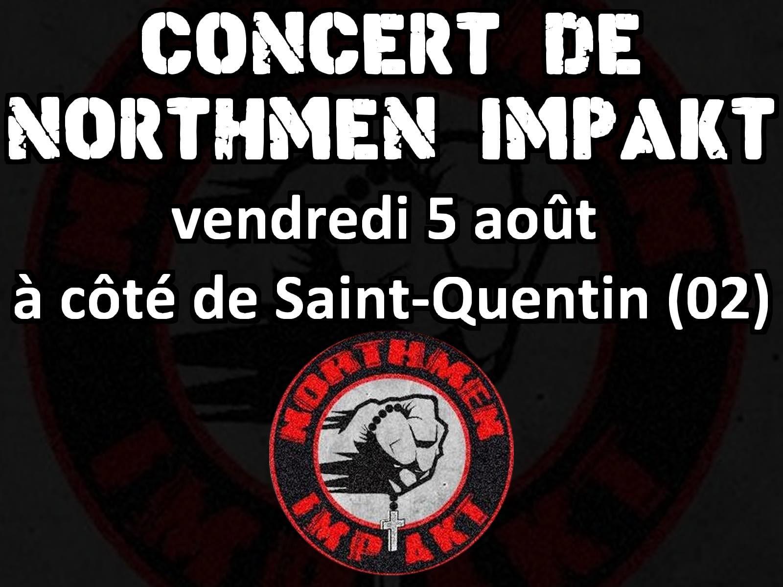 Northmen Impakt en concert à côté de Saint-Quentin vendredi 5 août