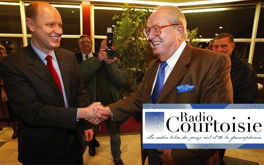 Carl Lang et Jean-Marie Le Pen invités de Radio Courtoisie lundi 30 janvier à 12h