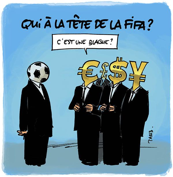 Qui à la tête de la FIFA ?