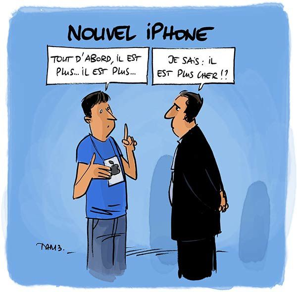 Nouvel iPhone