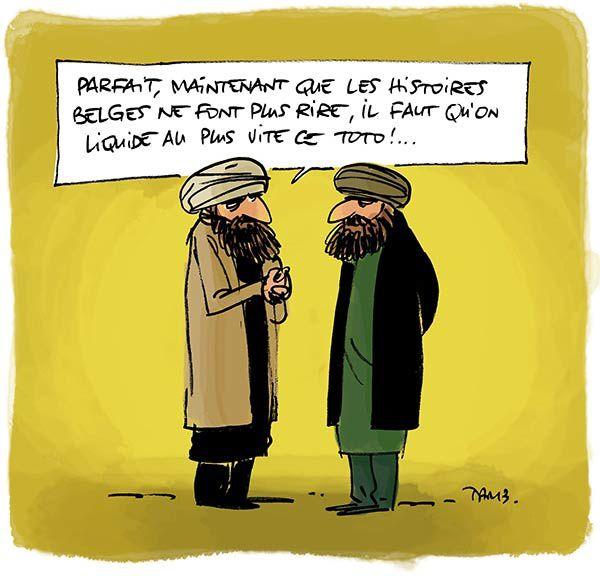 Attentats en Belgique
