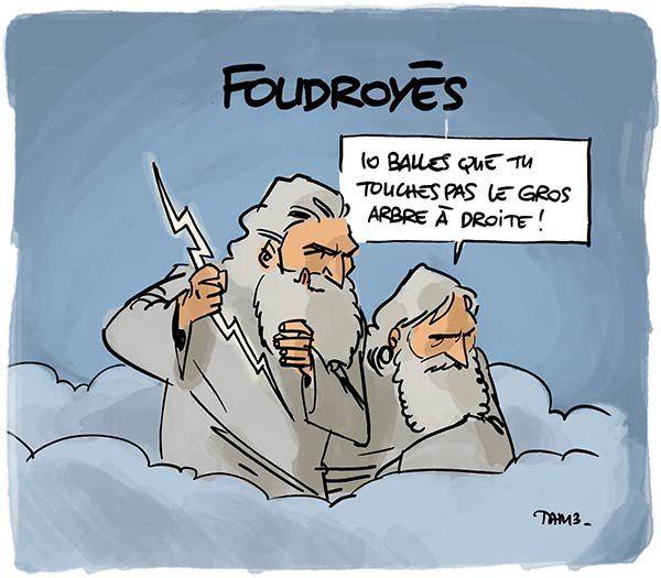 Foudroyés