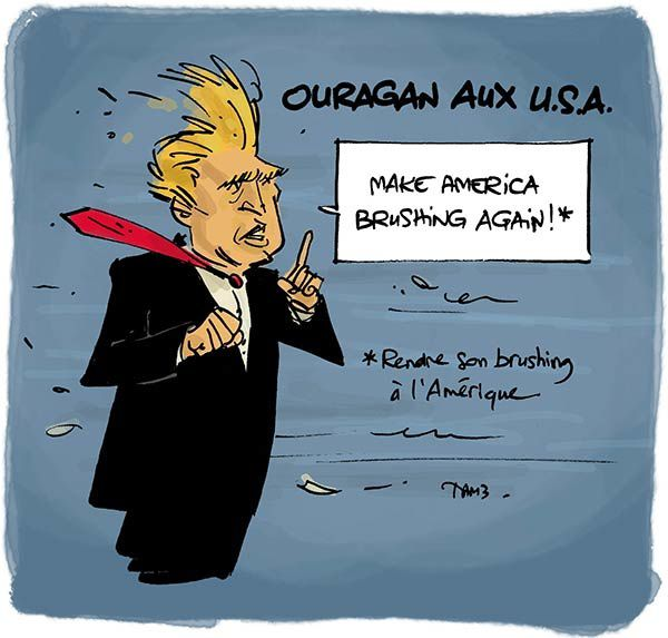 Ouragan aux USA