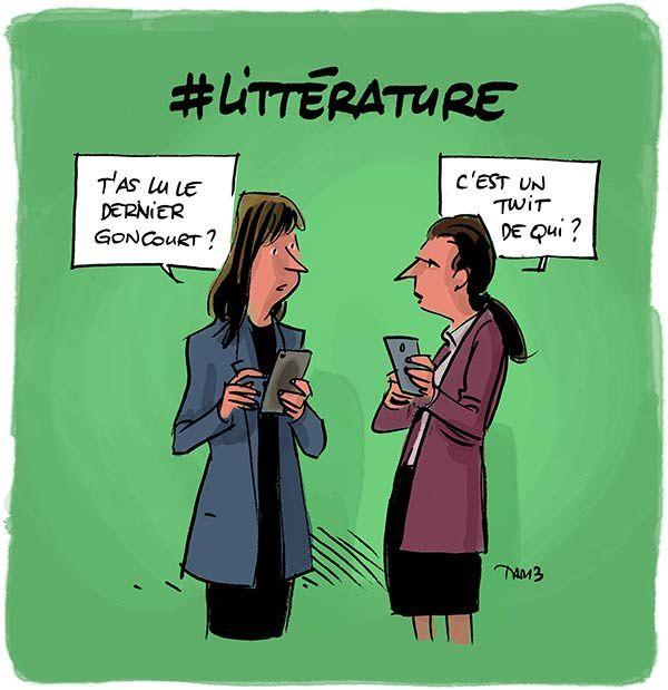 #Littérature