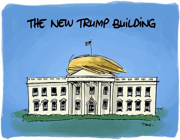 The New Trump Building