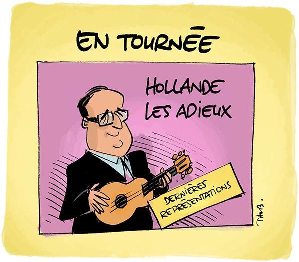 Hollande en tournée