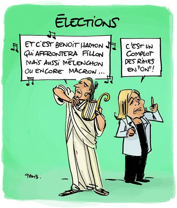 Election... qui a une rime en &quot&#x3B;on&quot&#x3B; ?