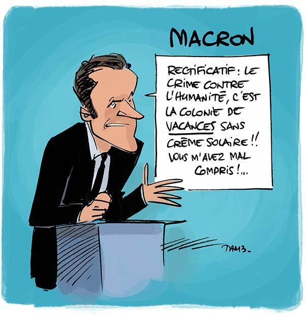 Macron, la France en marche... arrière.