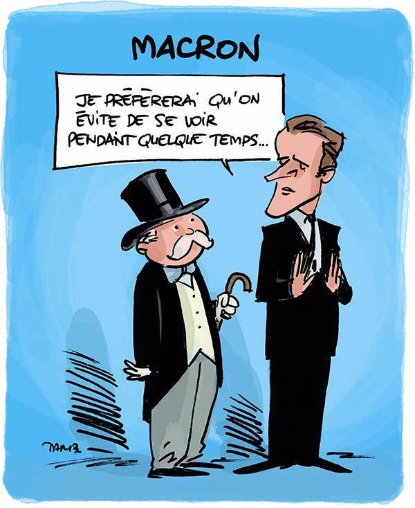 Le très bon jeu d'Emmanuel Macron