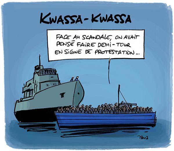 Indignation chez les Kwassa-Kwassas