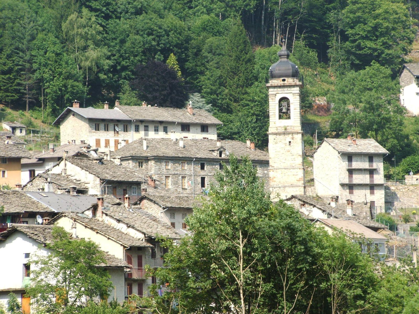 Village de Piedicavallo (Source Wikipédia)